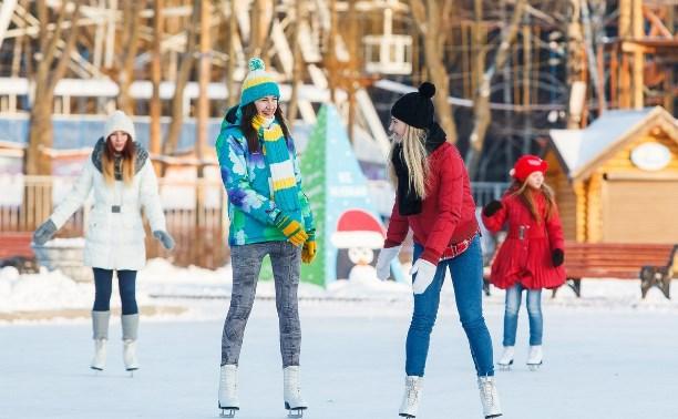 Этой зимой в Центральном парке снова зальют один из самых больших катков в Туле