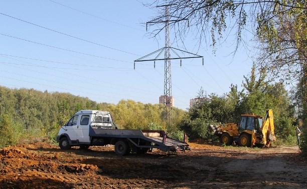 Глава Пролетарского района рассказал жителям о реконструкции дороги вдоль березовой рощи