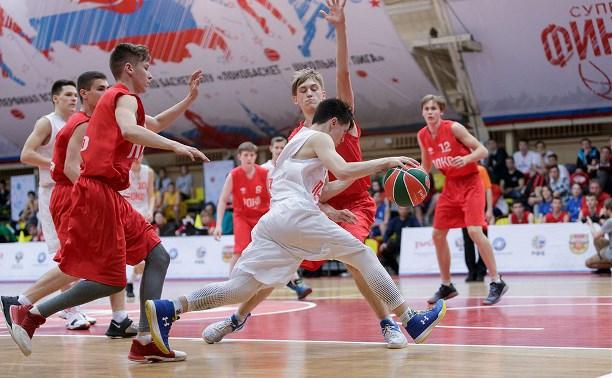 В Туле завершился Всероссийский школьный турнир по баскетболу