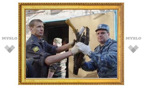 В Туле «испекли» 3,5 тонны оружия