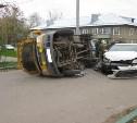 В Венёве в ДТП с пассажирским микроавтобусом пострадали пять человек