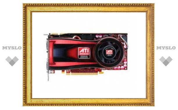 AMD выпустила 40-нанометровую видеокарту