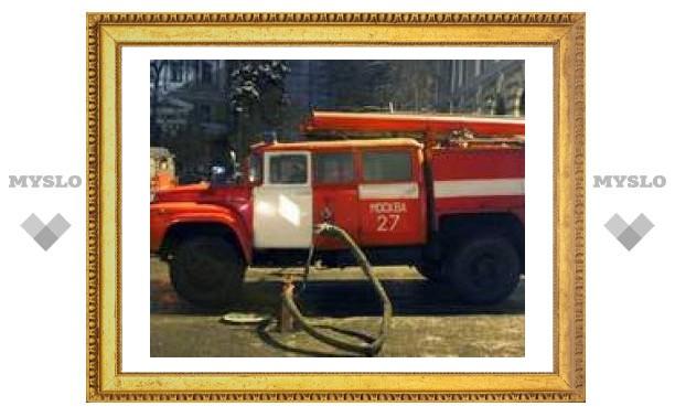 Тульские пожарные тушили несуществующую дачу