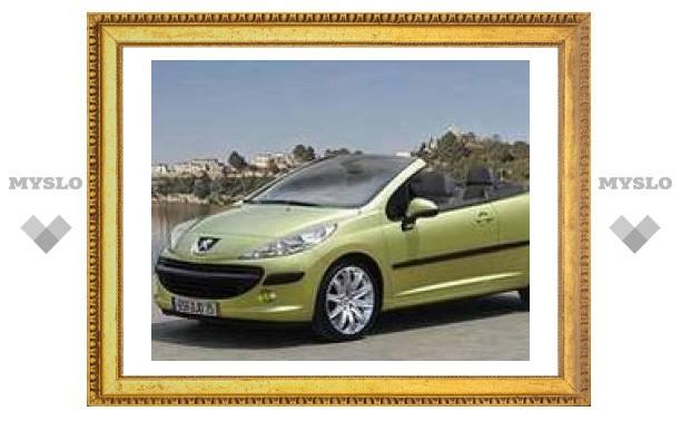 Peugeot 207 CC и Mini Cooper получили пять звезд