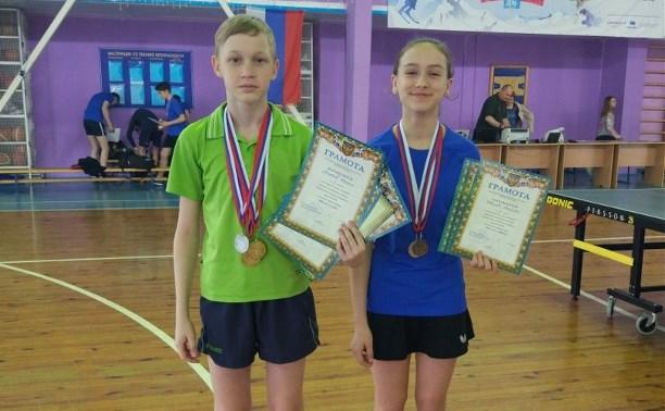 Туляки завоевали медали на турнире по настольному теннису