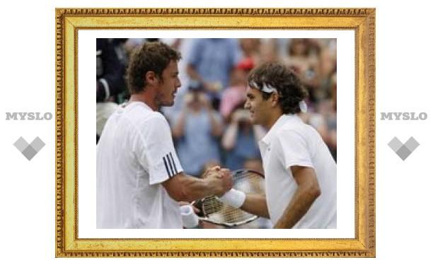 Сафин сыграет с Федерером на Australian Open