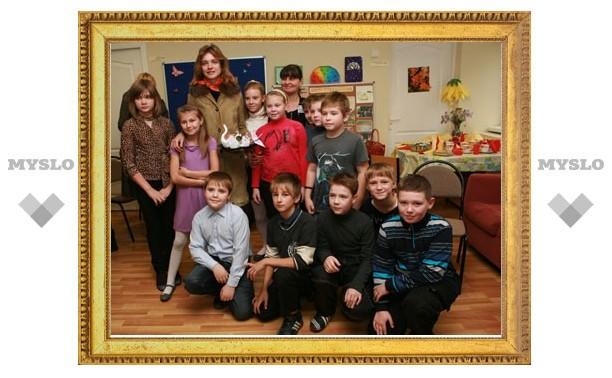 Наталья Водянова открыла первую в Тульской области лекотеку