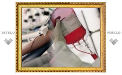 За сданную кровь тульским донорам будут платить едой