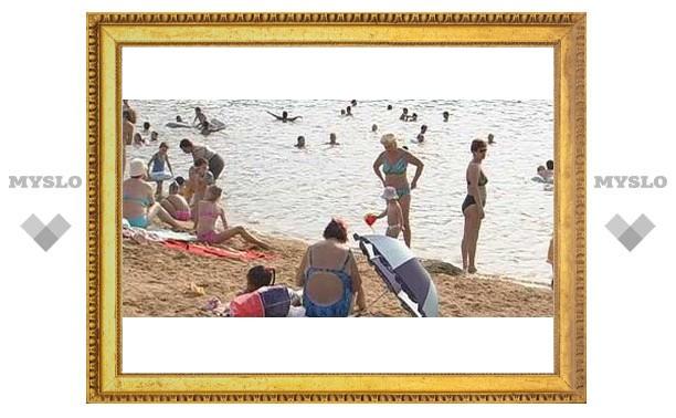 Туляки открыли купальный сезон
