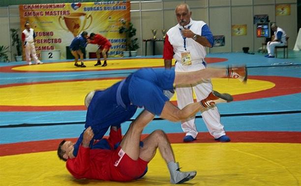 Тульский самбист завоевал золото на первенстве страны