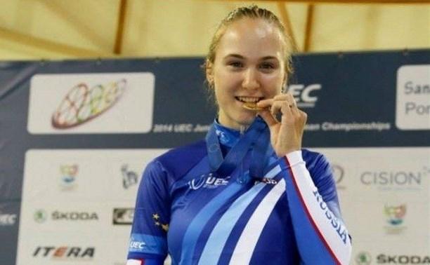 Татьяна Киселёва завоевала третью серебряную медаль на чемпионате Европы по велоспорту
