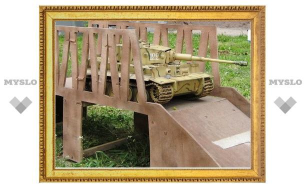 В Тулу вошли немецкие танки