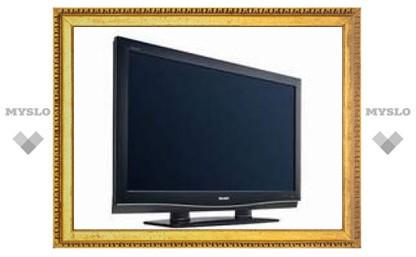 Sharp создала самый тонкий в мире ЖК-телевизор