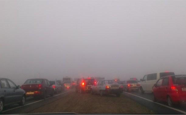 В аварии на трассе Тула-Новомосковск погиб один человек
