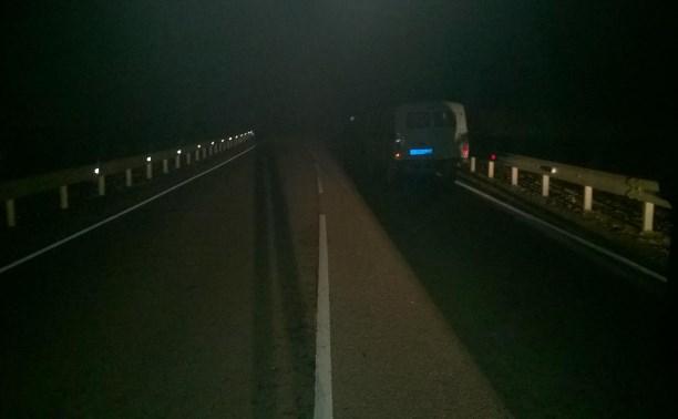 В Венёвском районе водитель сбил 26-летнего мужчину и скрылся с места ДТП