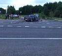 В Тульской области столкнулись мотоцикл и Mitsubishi Lancer: мотоциклист погиб