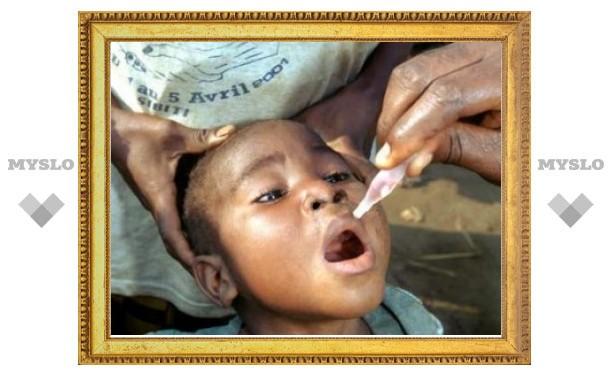 Против полиомиелита привьют 85 миллионов африканских детей