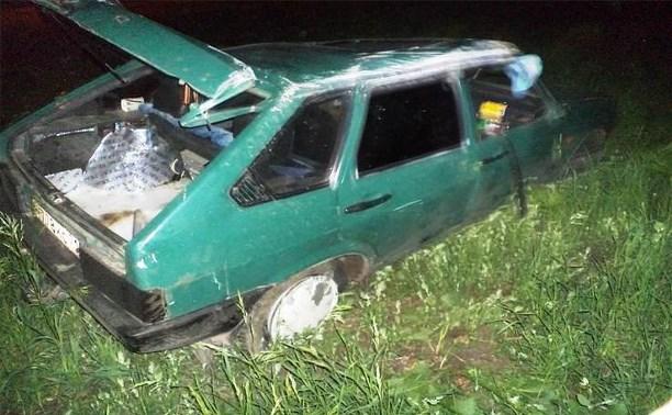 Водитель «девятки» погиб в аварии под Новомосковском