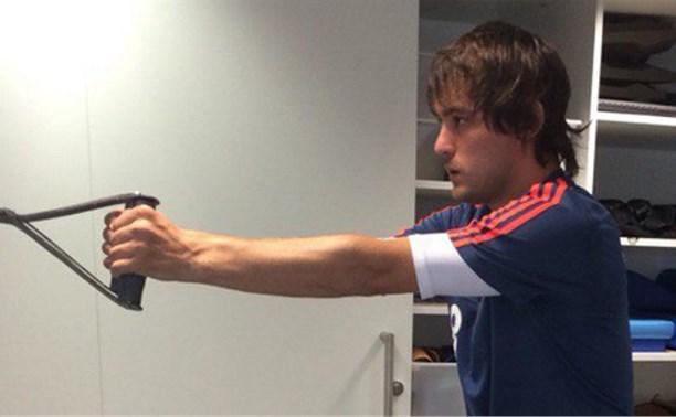 Полузащитник «Арсенала» Владислав Рыжков завершает курс лечения в Германии