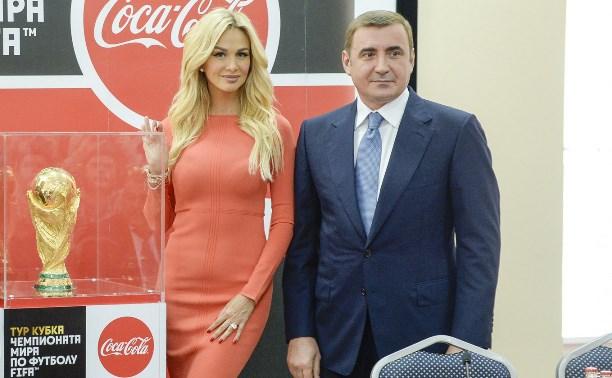 В Тулу приехал главный футбольный трофей