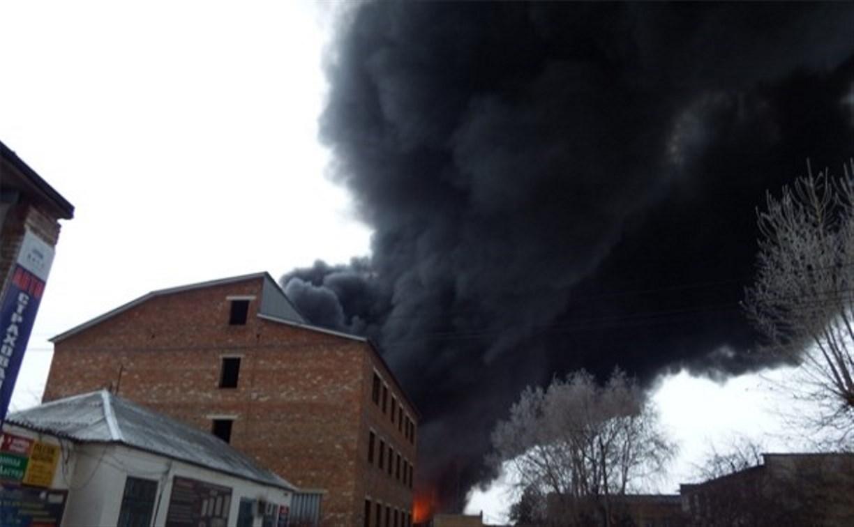 Пожар на Узловском хладокомбинате ликвидирован