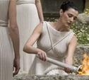 В Греции зажжен олимпийский огонь