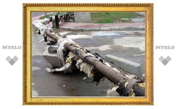 Теплосеть в Мяснове греет только бомжей