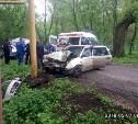 В Узловой «Фольксваген» врезался в газовую трубу