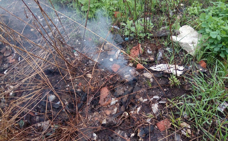 Жители о свалке под Тулой: «Земля чем-то пропитана и всё время горит!»