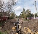 В Узловой строят водопровод длиной более 5 км
