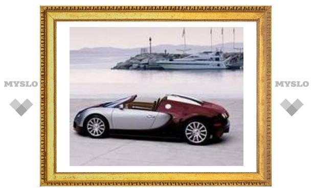 Bugatti Veyron с открытым верхом раскупили до начала производства