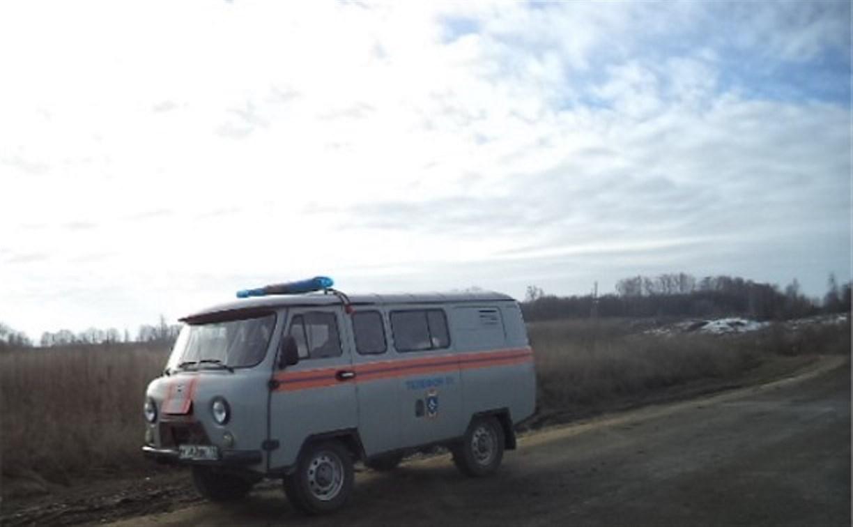 В Суворовском районе затопило низководный мост