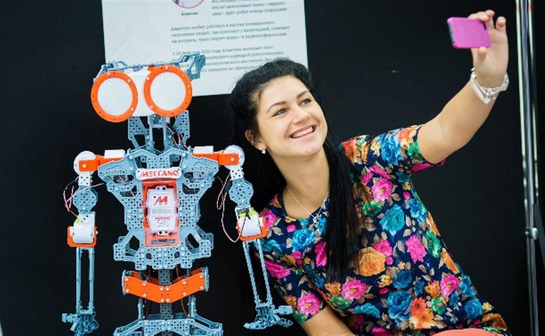 «Фабрика будущего» приглашает туляков в «Эксперименторию» на выставку роботов