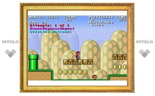 """Искусственный интеллект будут тренировать на """"Супер Марио"""""""