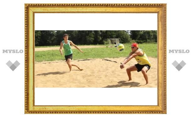 Любимая игра туляков – волейбол?