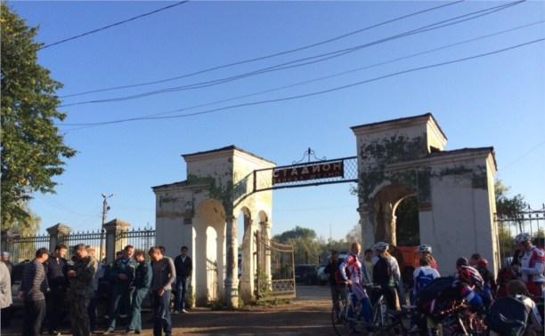 «Внешстрой» подарил стадион в Баташёвском саду Туле