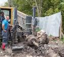 В Туле под руслом Упы меняют канализацию: фоторепортаж
