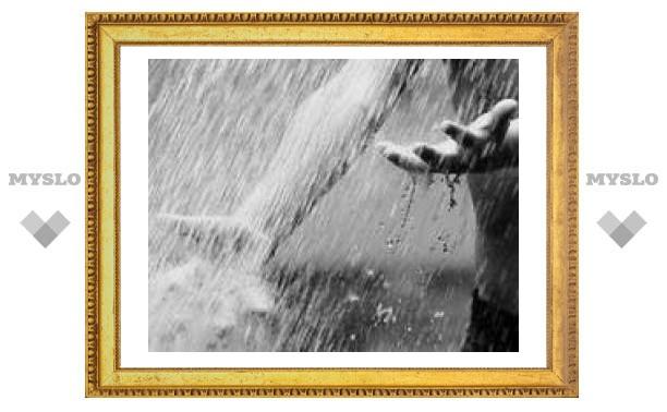 Вечером в Туле сильный дождь