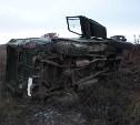 В Ясногорском районе перевернулся УАЗ