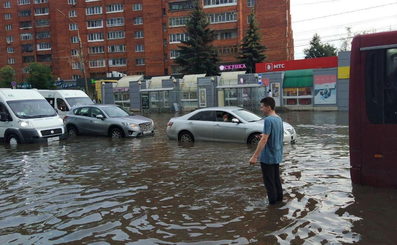 Последствия ливня в Туле: оперативный фоторепортаж