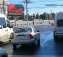 Еще на одного водителя маршрутки, нарушившего ПДД в центре Тулы, составлен протокол: видео