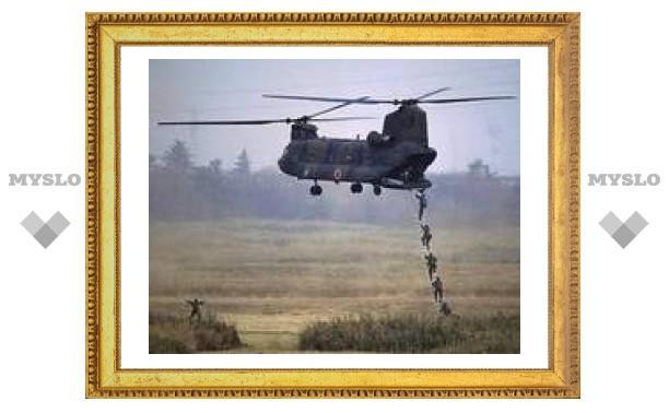 Японский военный вертолет разбился из-за тумана