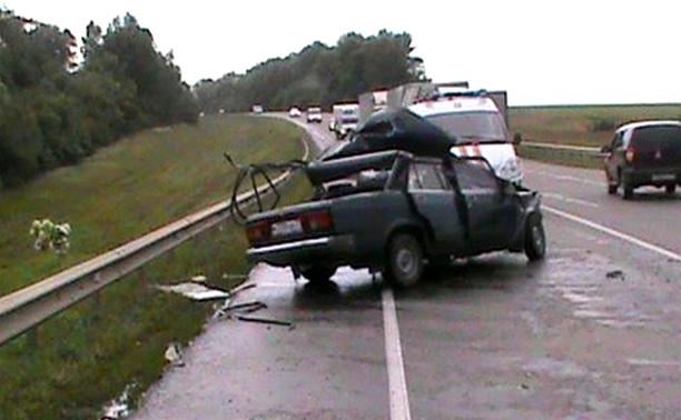 В ДТП на трассе «Крым» погиб водитель