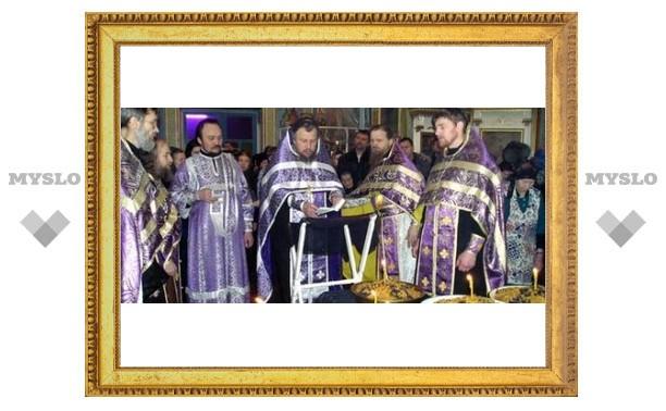 У православных туляков пост