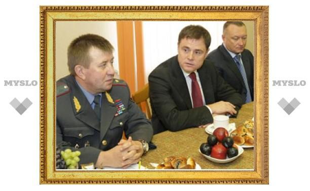 Владимир Груздев встретился с полицейскими начальниками