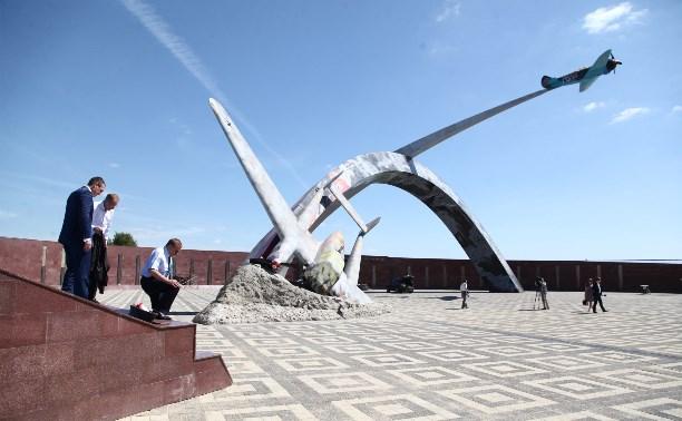 Мемориал «Защитникам неба Отечества» должны закончить к 20 августа
