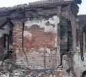 Тульское МЧС: В селе Мишнево в пожаре сгорело четыре нежилых дома