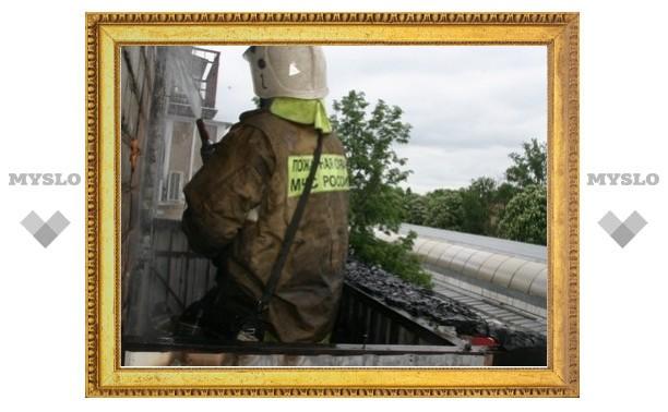 В Туле загорелась 5-этажка