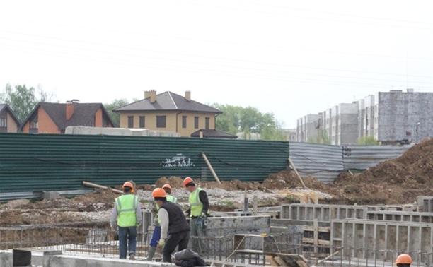 В Скуратово полным ходом идет строительство домов для переселения граждан