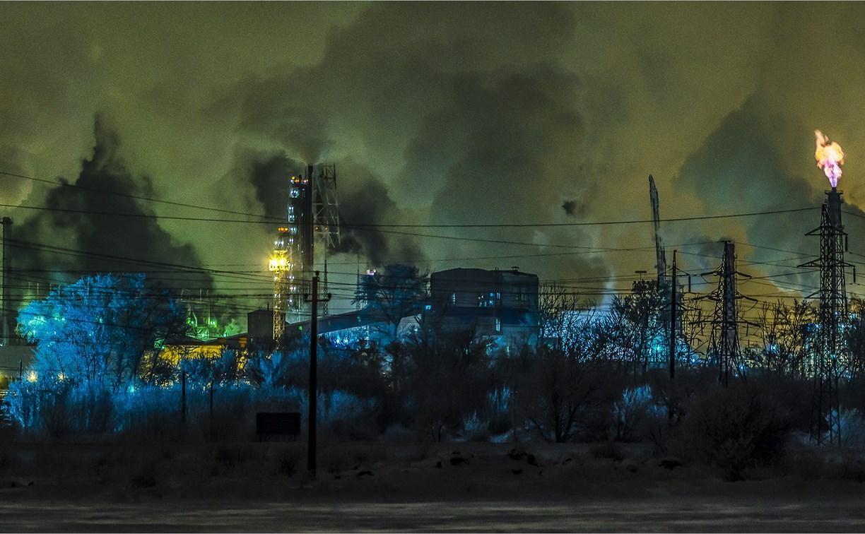 Зачем Новомосковский «Азот» зажигает факелы?